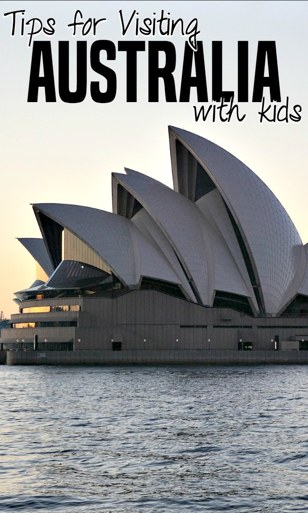 Tips for family travel to Australia - what to do with kids