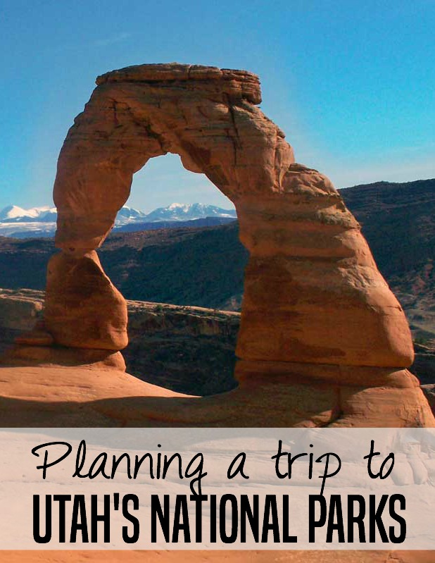 Great tips for planning a trip to Utah's National Parks from a local -- including Bryce, Zion, Canyonlands, and Capitol Reef