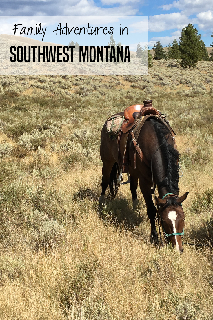 There is so much to do in Southwestern Montana with kids from dude ranches to horseback riding, ziplining, gold panning, white water rafting and more.