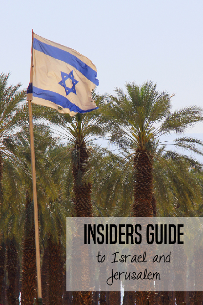 Tips for Visiting Israel with kids -- get ideas and insights from a local!