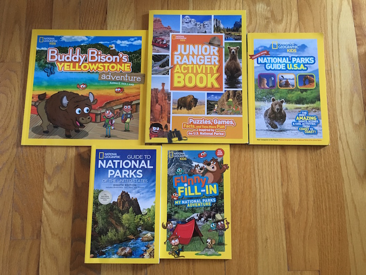 National Geographic book giveaway