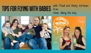 Tips for flying with babies