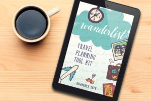 Wanderlist travel planner