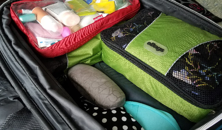 Family travel packing tips