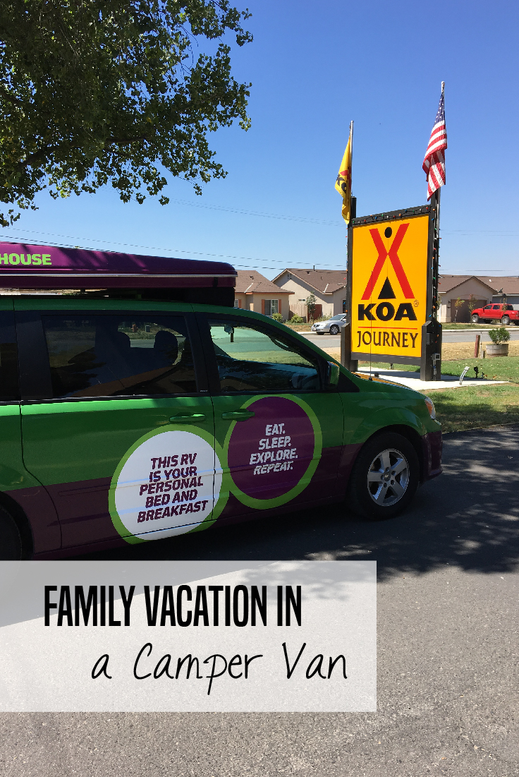 Taking a camper van vacation in a Jucy camper van -- tips and tricks from a family that has done it!