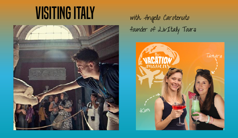 Planning a first trip to Italy with Angelo Carotenuto