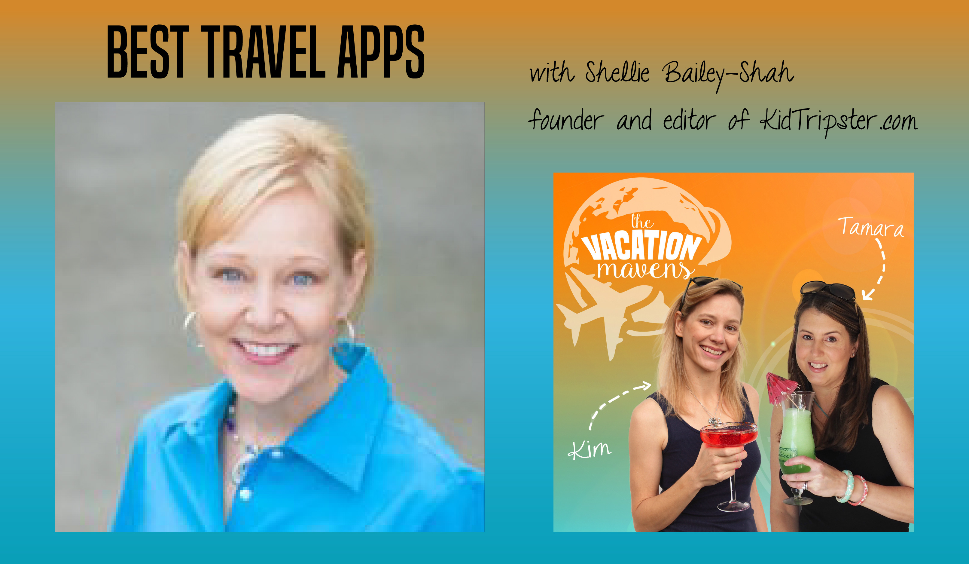 Best travel apps with Shellie from Kidtripster