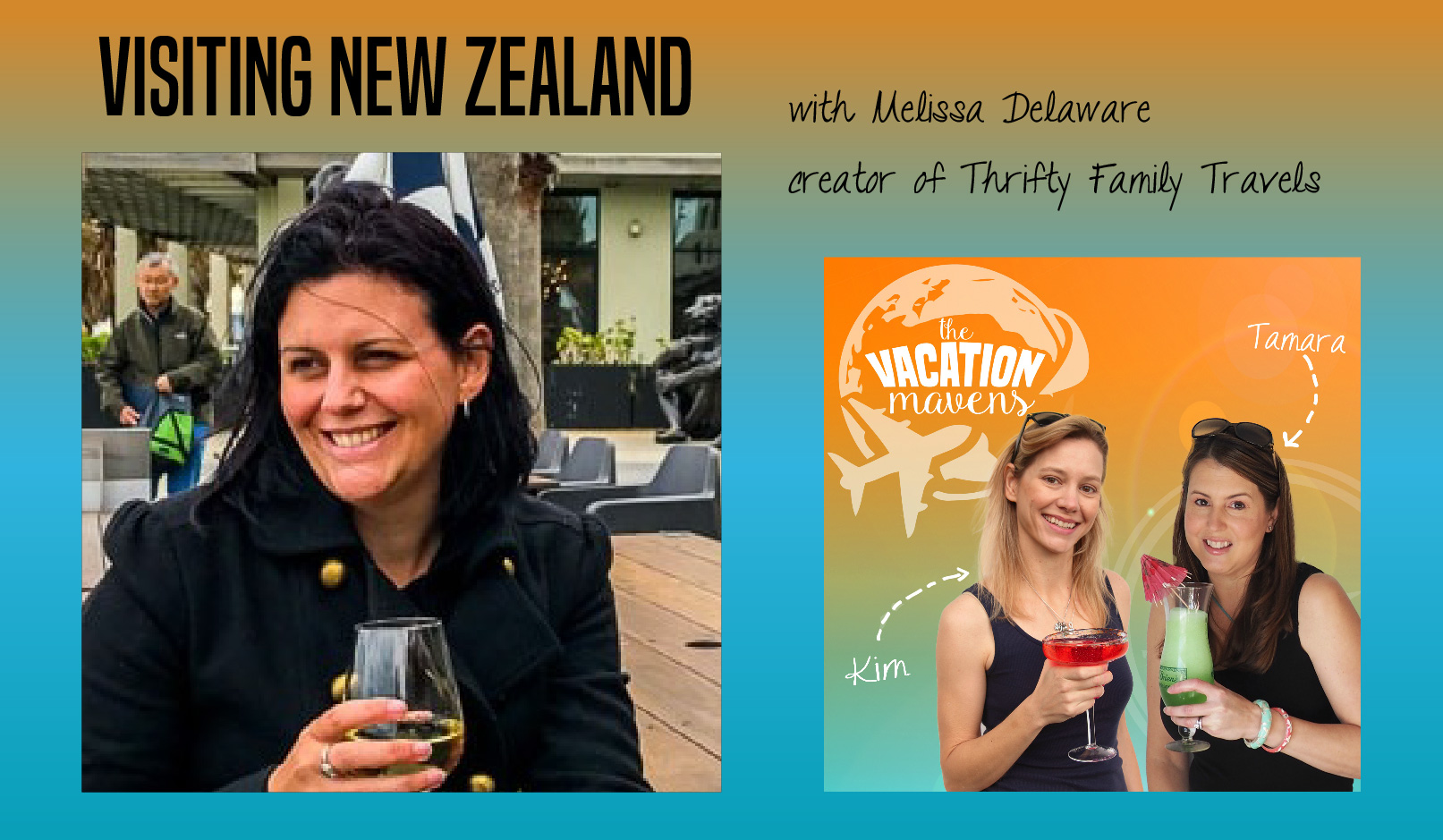 Melissa Delaware Thrifty Family Travel on Vacation Mavens podcast