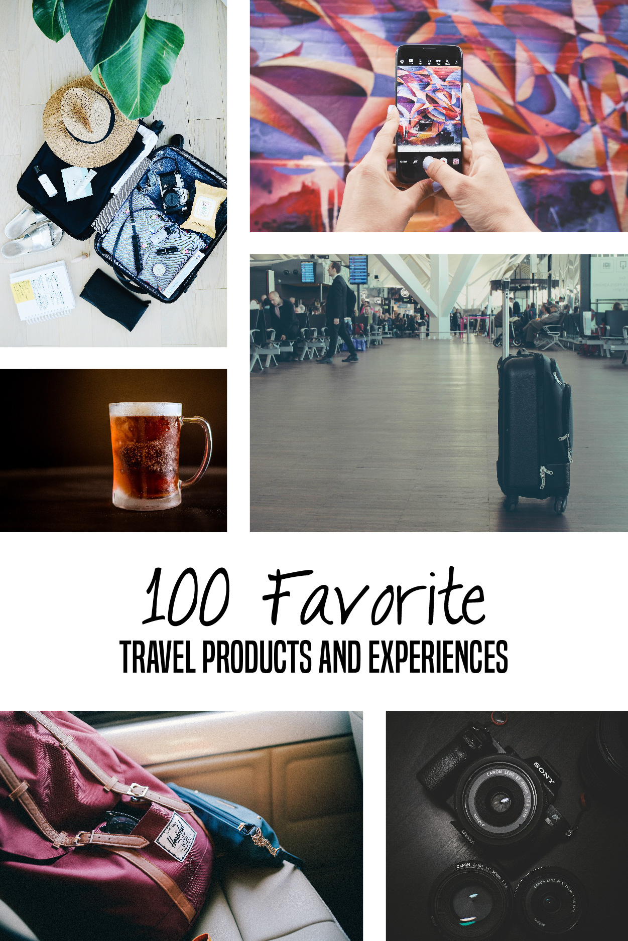 100 favorite travel products