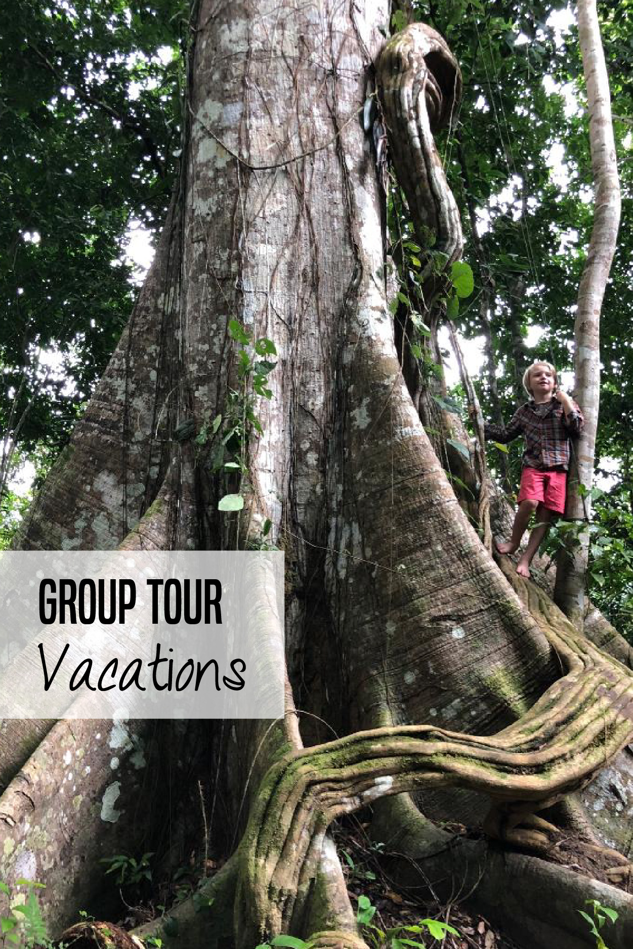 The pros and cons of taking group tour vacations with kids. Learn what group trips are like and if they are a good fit for you and your kids. #familytravel #grouptravel