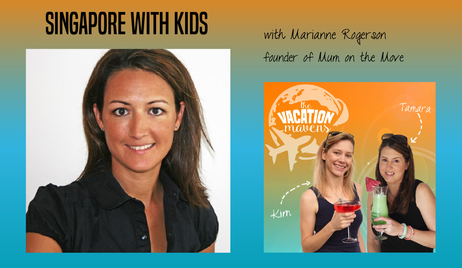 Singapore with kids podcast with Marianne Rogerson