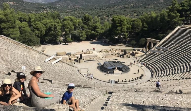 118: Family Travel to Athens, Greece for Percy Jackson Fans