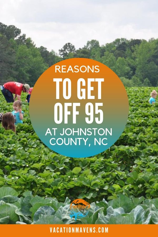 Reasons to get off of I-95 on an East Coast road trip and visit the charming Johnston County, North Carolina. #northcarolina #johnstoncounty
