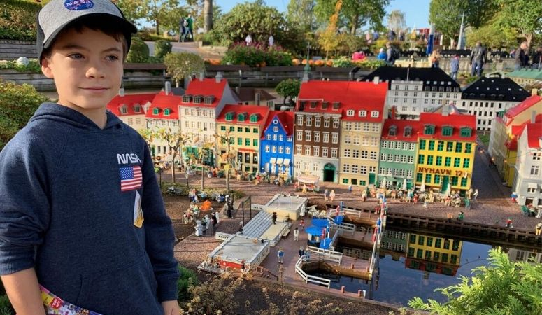 Boy at Legoland Denmark