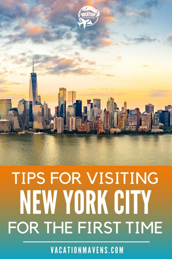 Tips for visiting NYC for the first time on the Vacation Mavens podcast