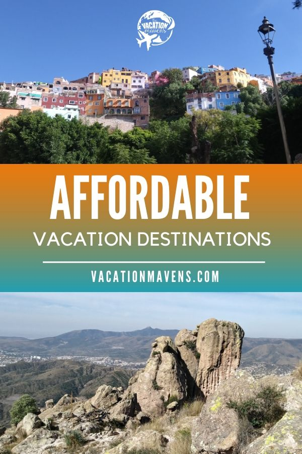 Affordable vacation destinations