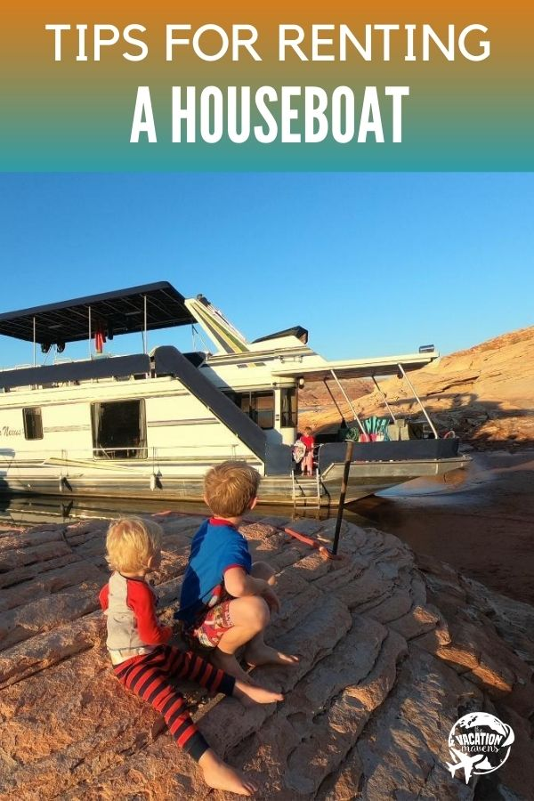 tips for renting a houseboat