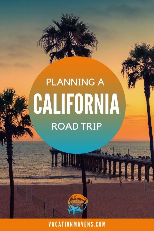 Planning a California road trip